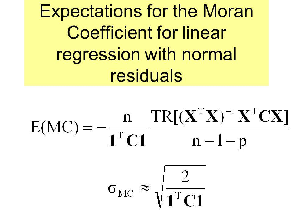 Eigenvectors of MCM (I – 11 T /n) = M ensures that the eigenvector means are 0 symmetry ensures that the eigenvectors are orthogonal M ensures that th
