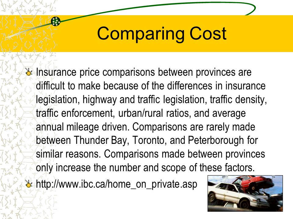Justification I chose this as a topic, because as a recent purchaser of auto insurance I know first hand how expensive insurance is.