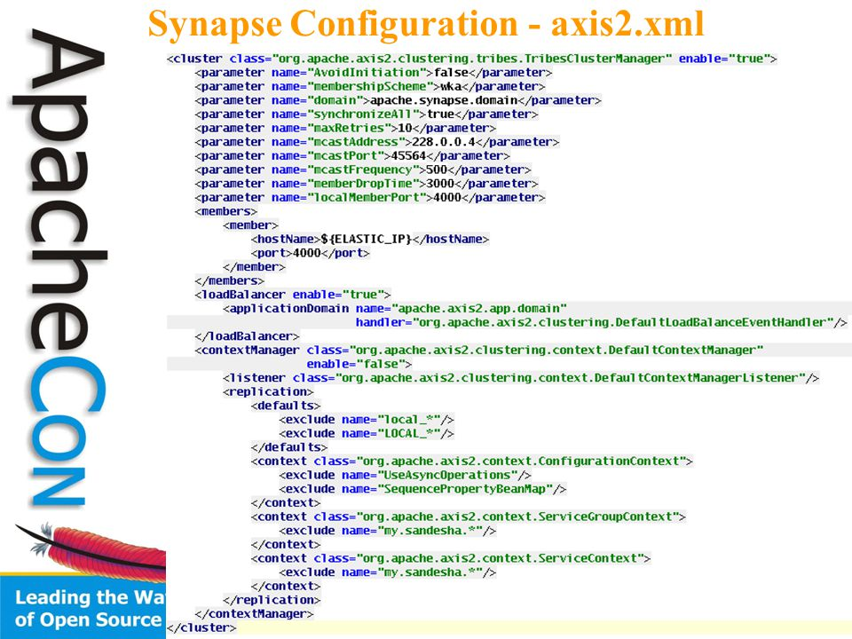 30 Synapse Configuration - axis2.xml