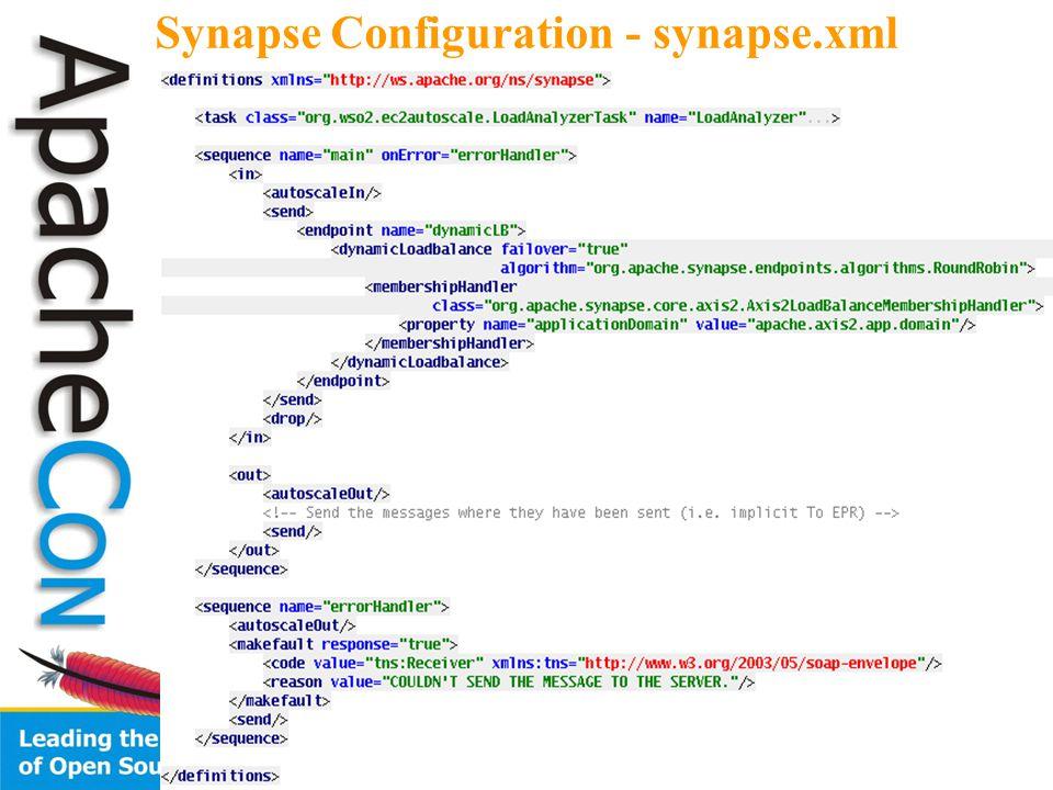 31 Synapse Configuration - synapse.xml