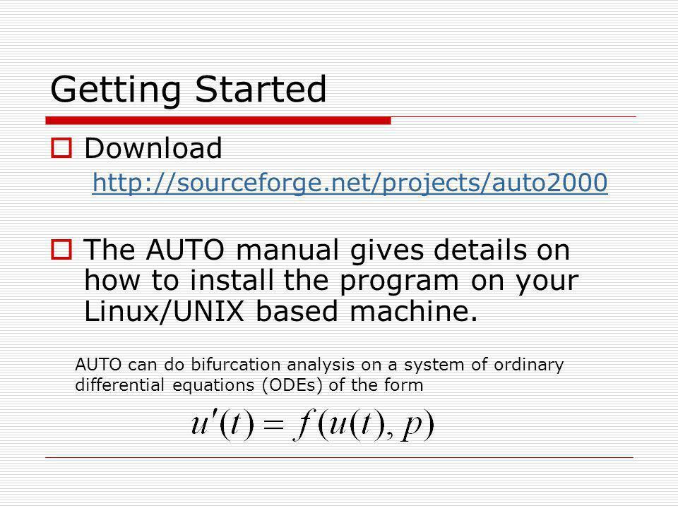 Plotting using Plaut @p lor Type: Commands d3 (show stability) then BD0 (default settings) Appendix B of manual contains all commands