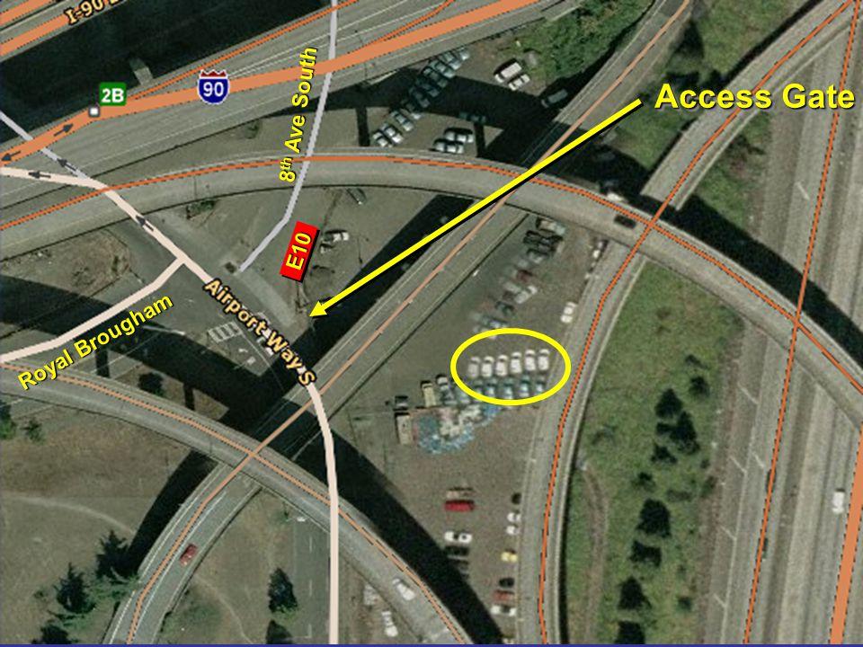 6 Royal Brougham 8 th Ave South Access Gate E10E10