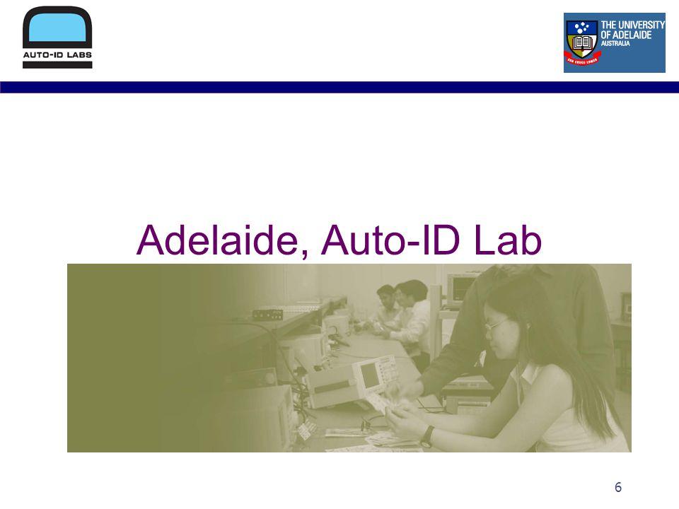 6 Adelaide, Auto-ID Lab