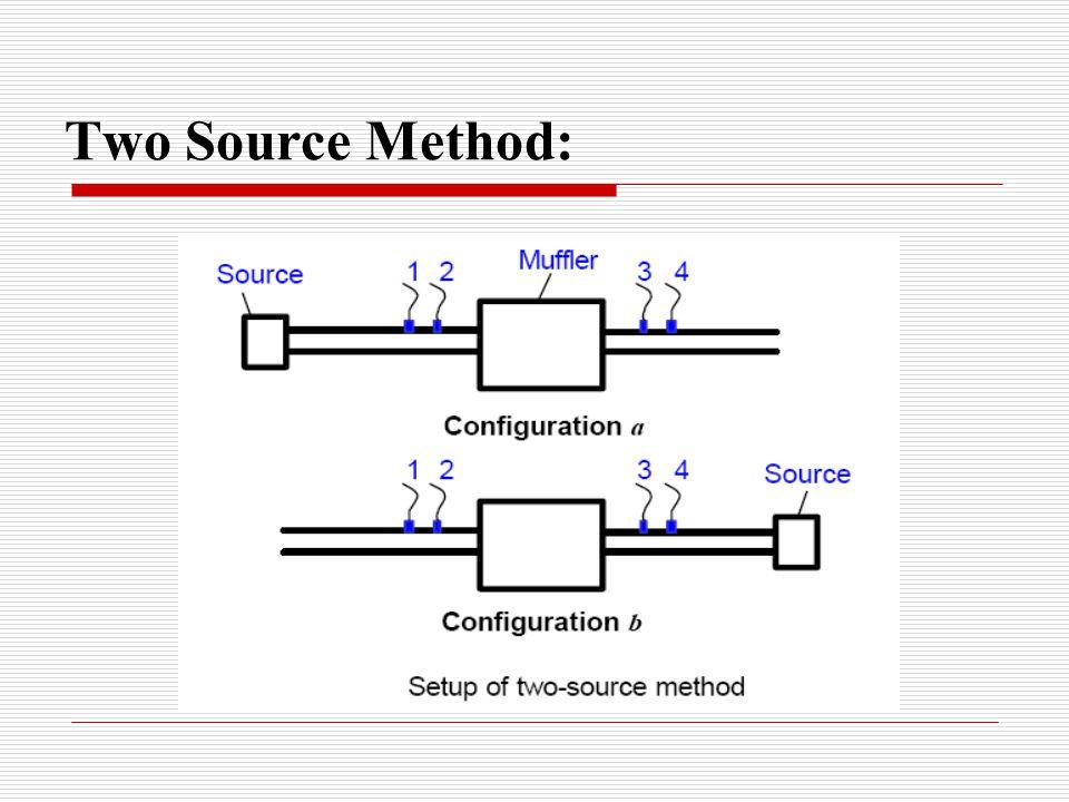 Two Source Method: