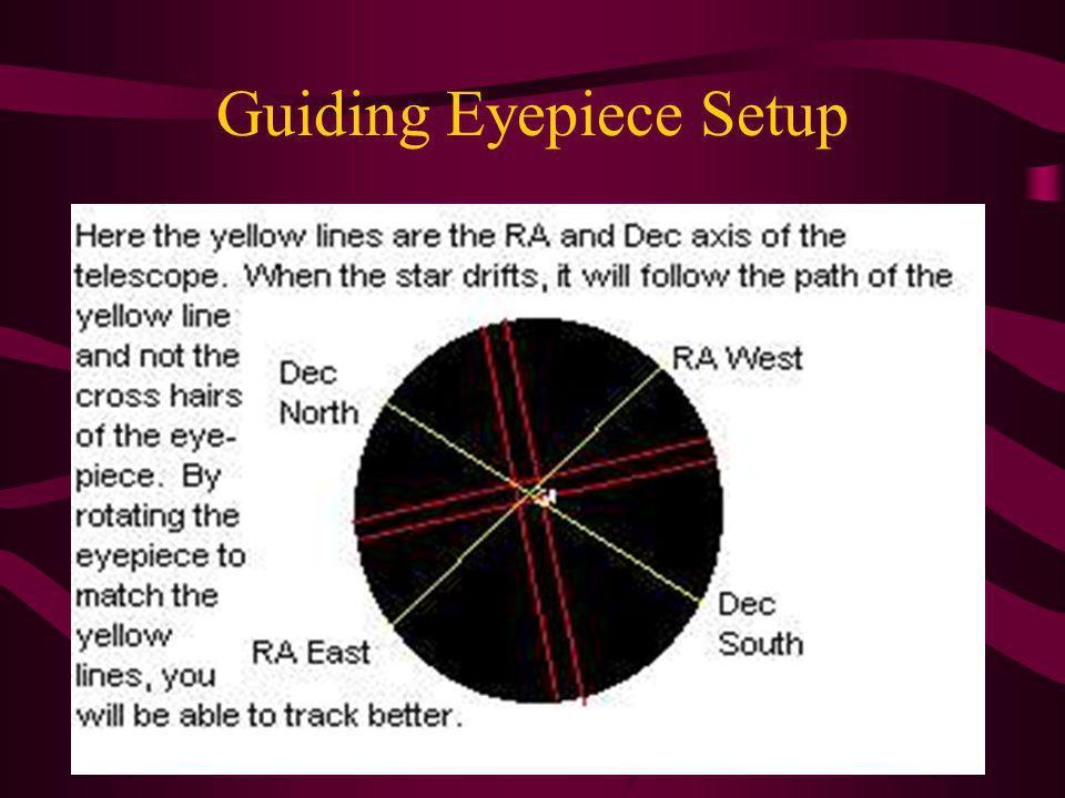 Guiding Eyepiece Setup