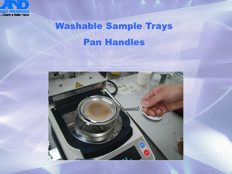 Washable Sample Trays Pan Handles