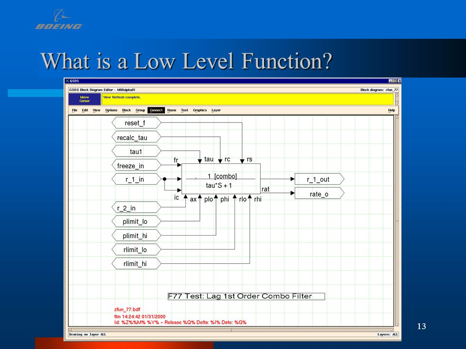 13 What is a Low Level Function?