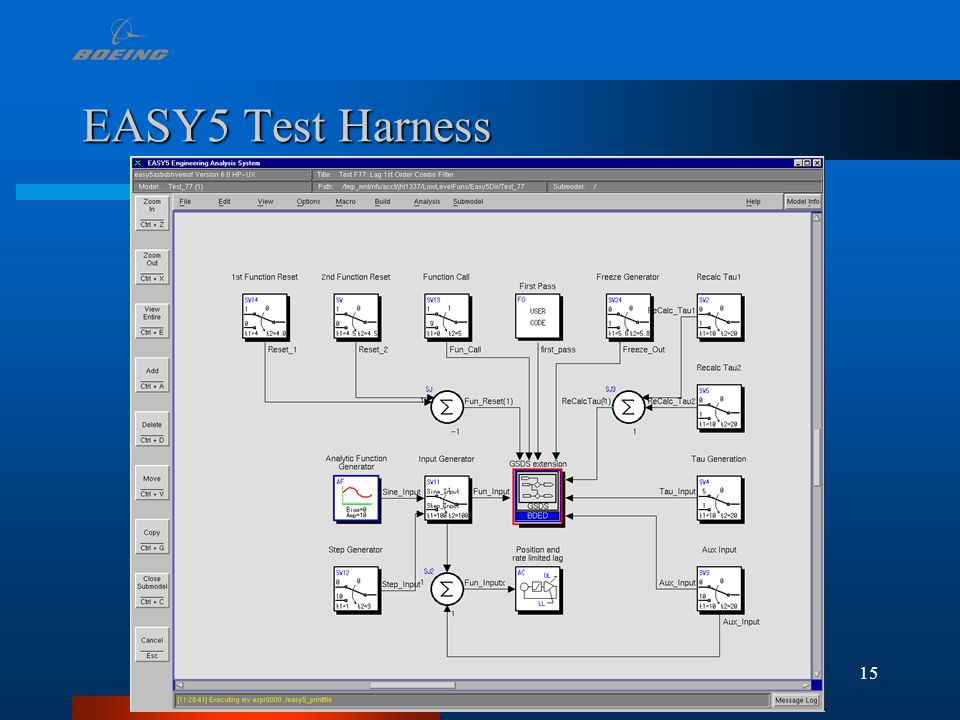 15 EASY5 Test Harness