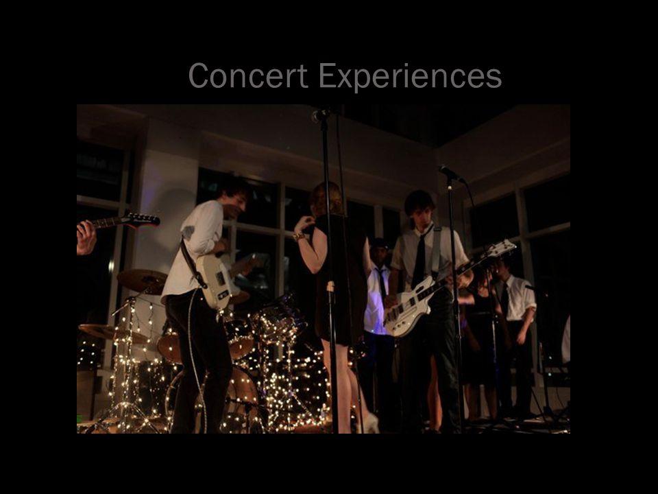Concert Experiences