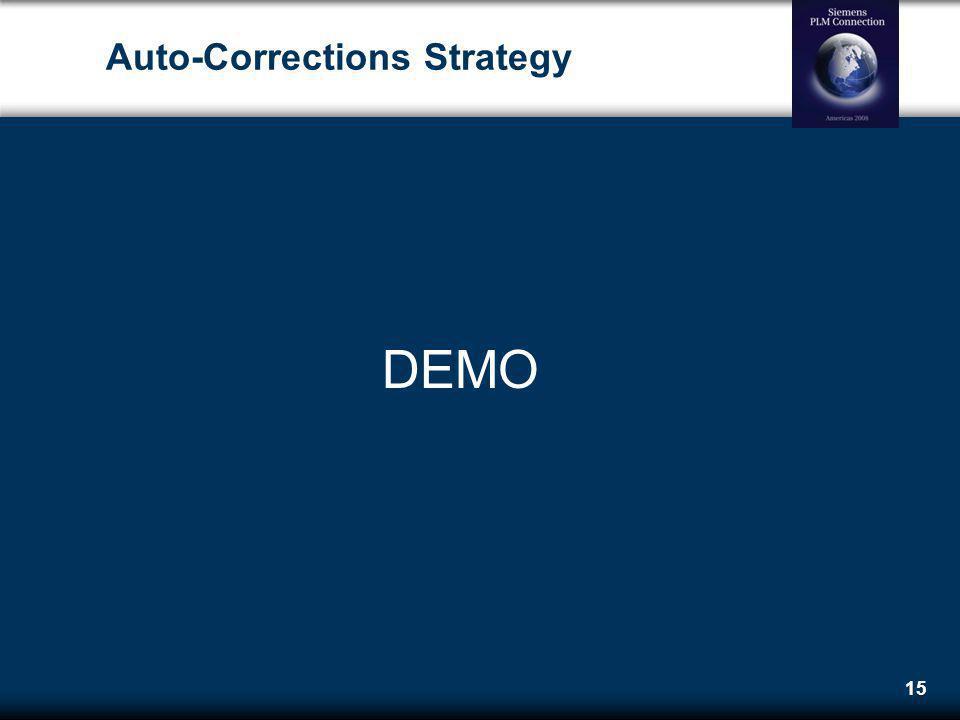15 Auto-Corrections Strategy DEMO