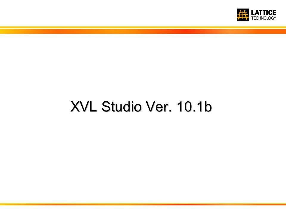 XVL Studio Ver. 10.1b