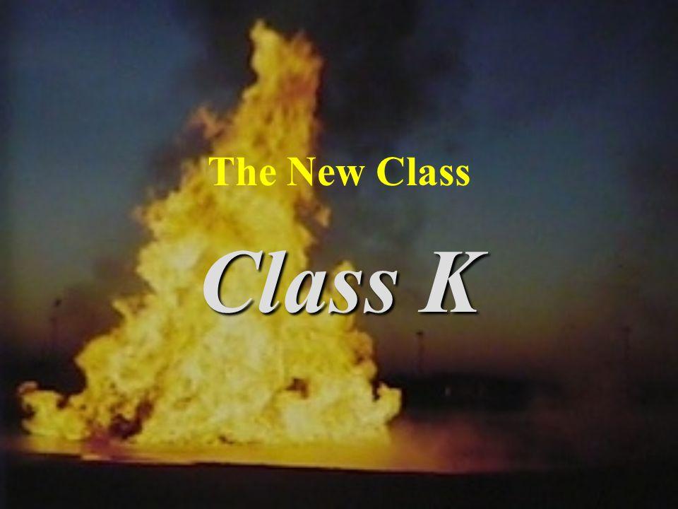 The New Class Class K