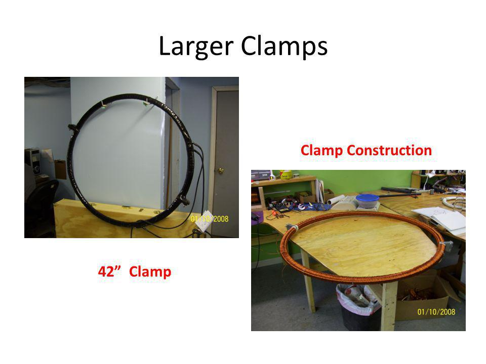 Larger Clamps 42 Clamp Clamp Construction