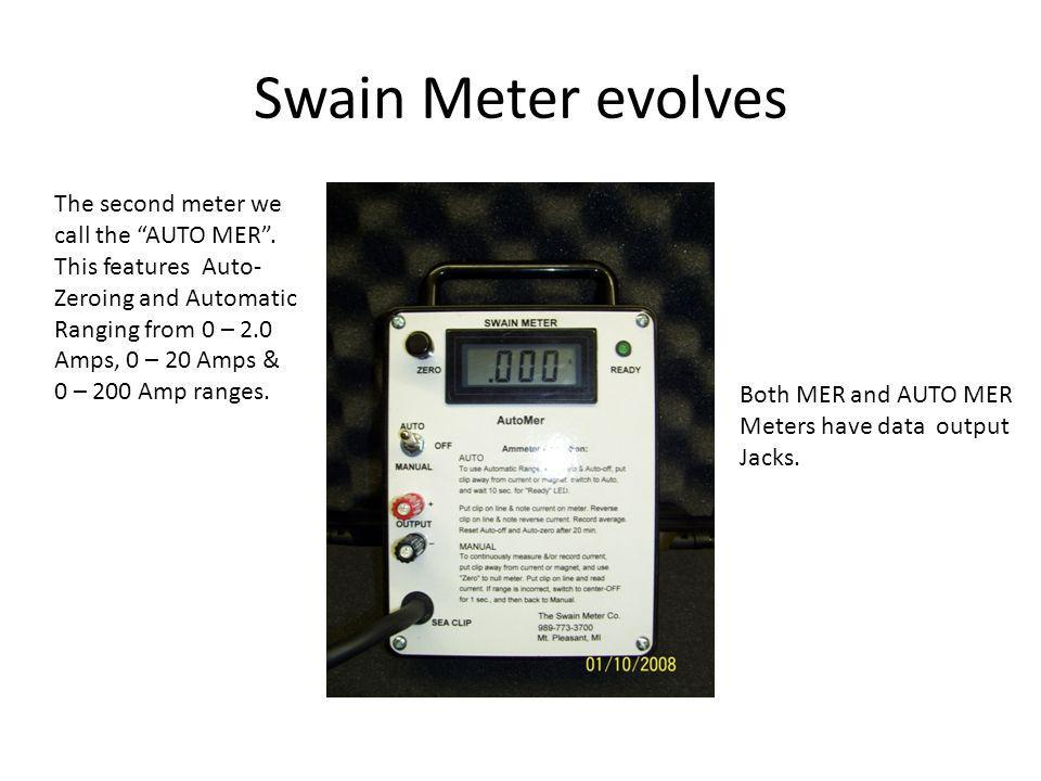 The technology that drives the Swain Meter has changed little in over 40 years.