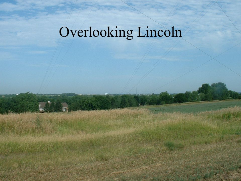 Overlooking Lincoln