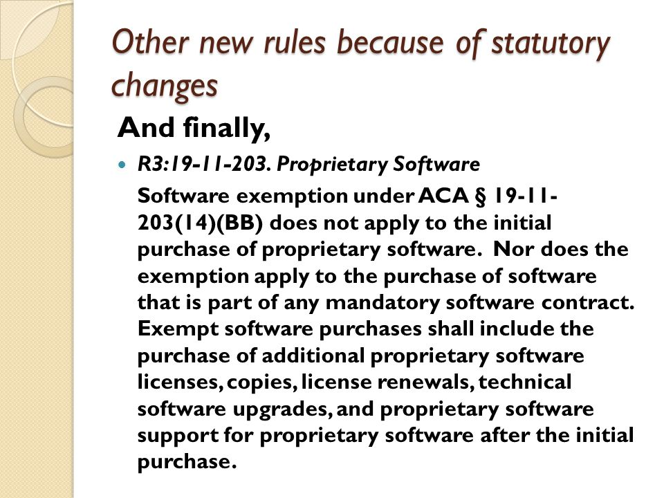 Other new rules because of statutory changes And finally, R3:19-11-203.