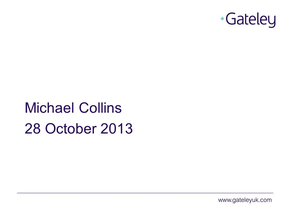 Michael Collins 28 October 2013