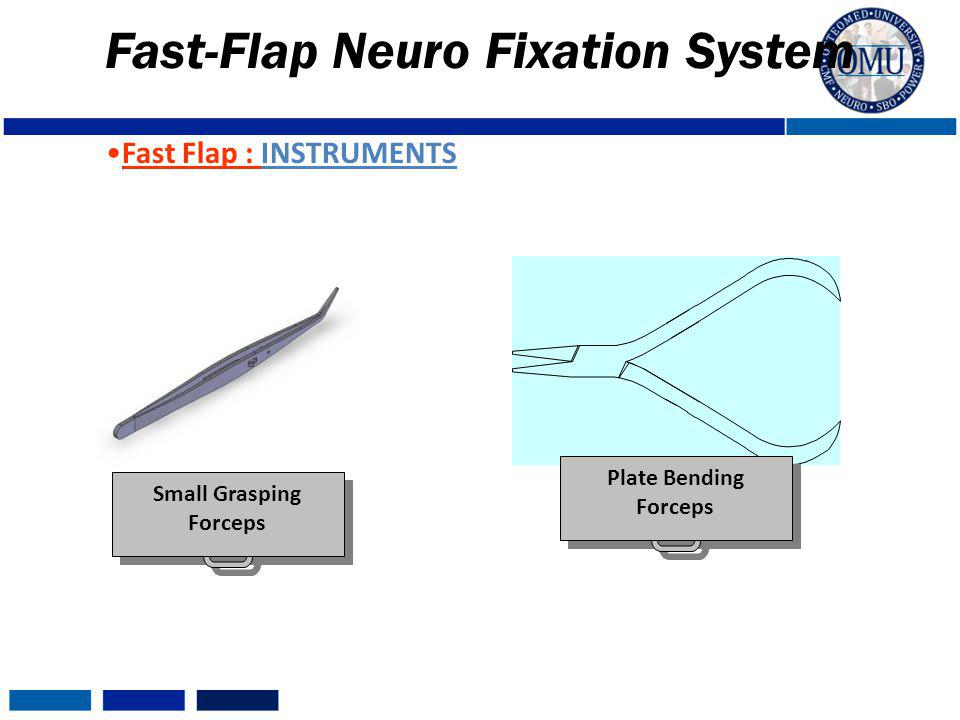 Fast-Flap Neuro Fixation System Plate Bending Forceps Small Grasping Forceps Fast Flap : INSTRUMENTS