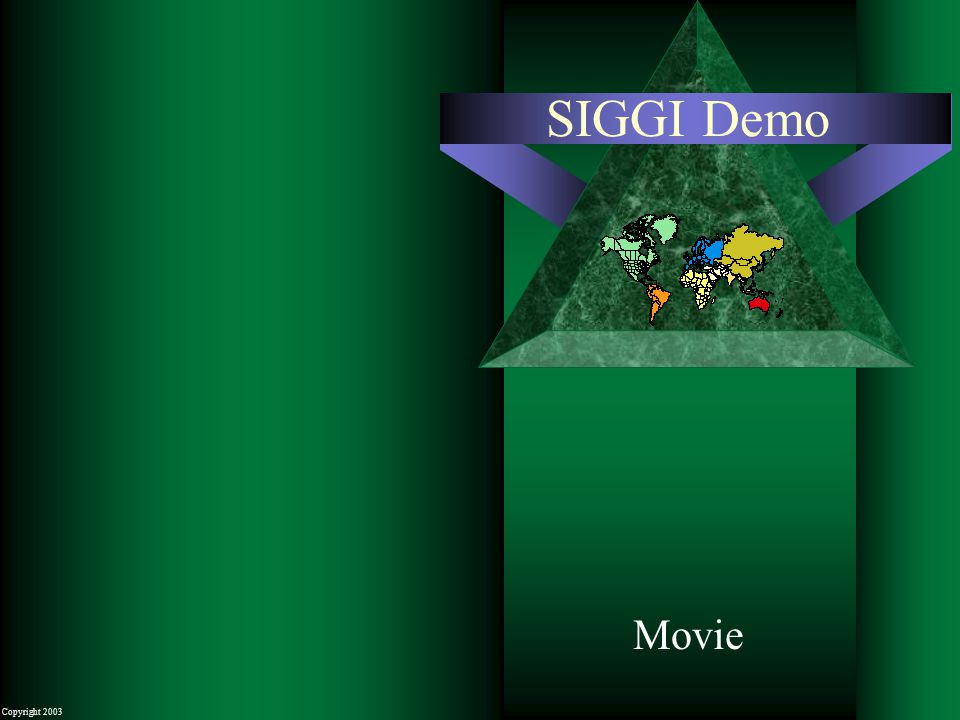 Copyright 2003 SIGGI Demo Movie