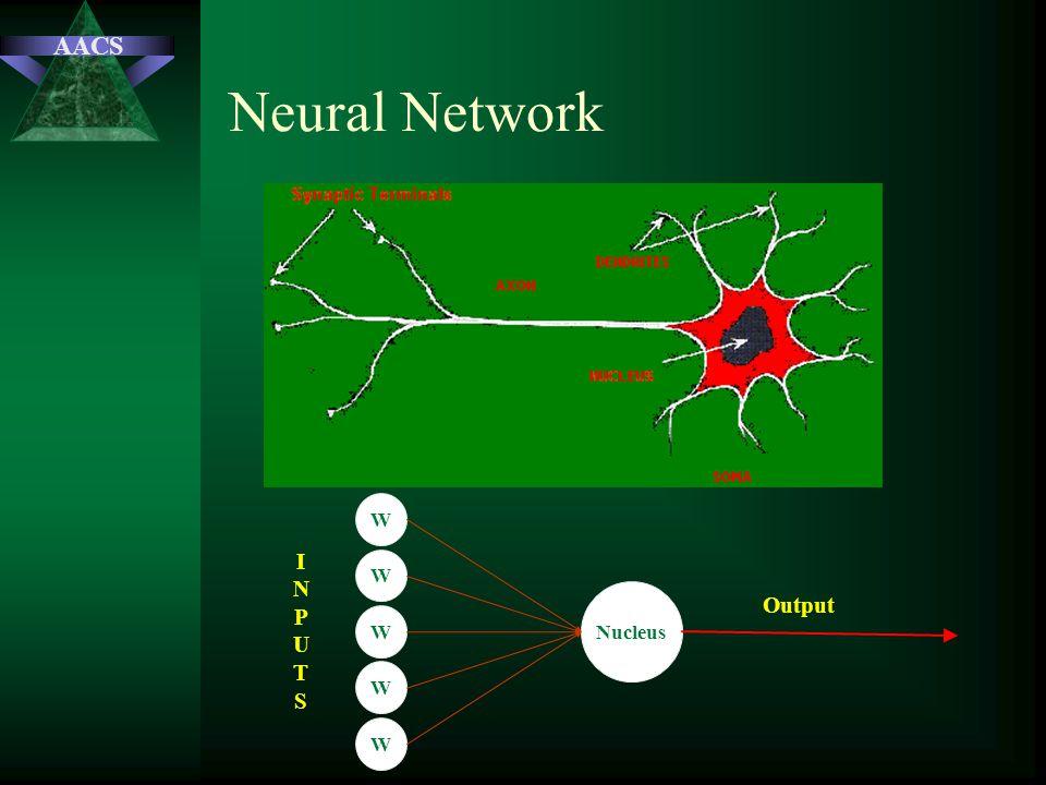 AACS Neural Network Nucleus W W W W W Output INPUTSINPUTS