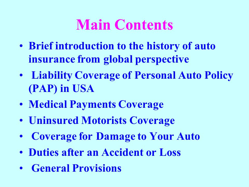 Part C Uninsured Motorists Coverage Insuring agreement The insurer agrees to pay compensatory damages that an insured is legally entitled to receive from the owner or operator of an uninsured motor vehicle Damages include medical bills, lost wages, and compensation for a permanent disfigurement resulting from the accident Some conditions must be met