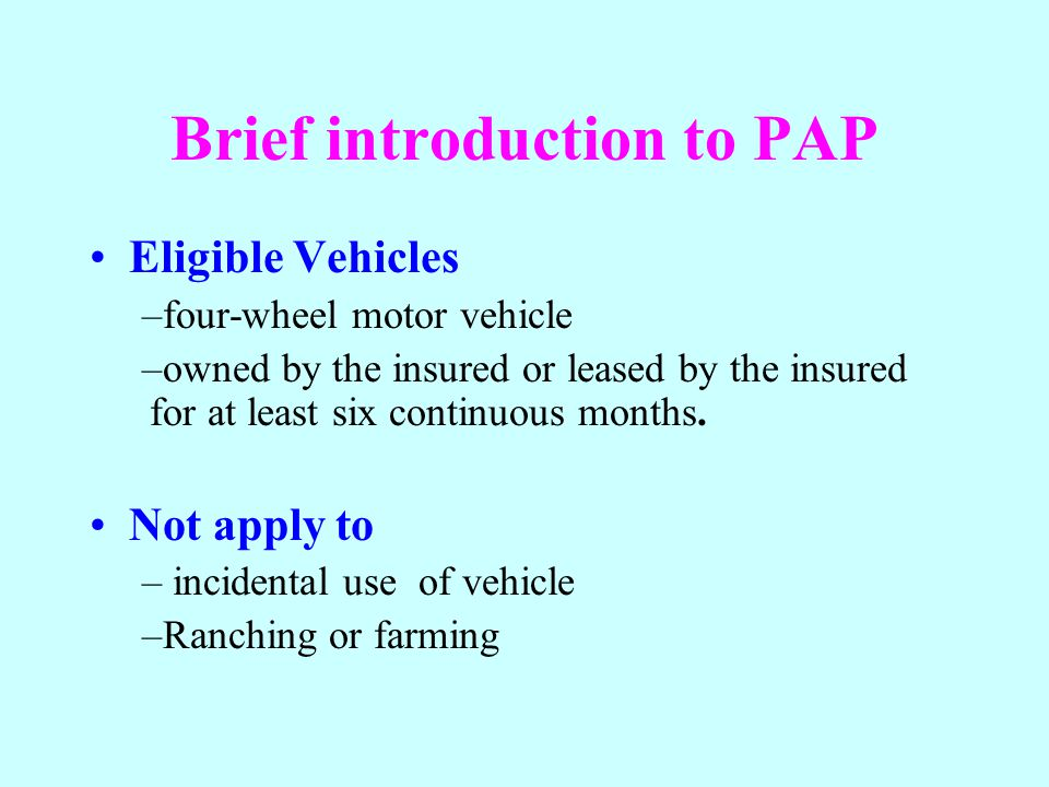 Part B Medical Payments Coverage Insured Persons Named insured and family members Other persons while occupying the covered auto