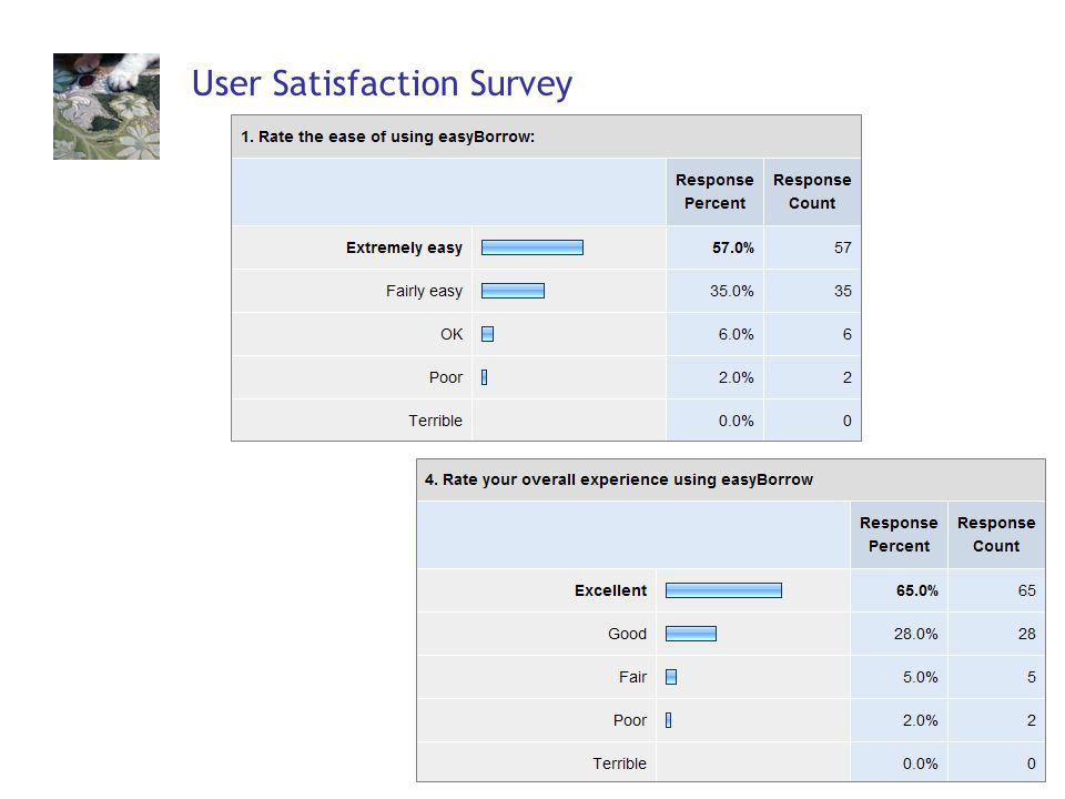 59 User Satisfaction Survey