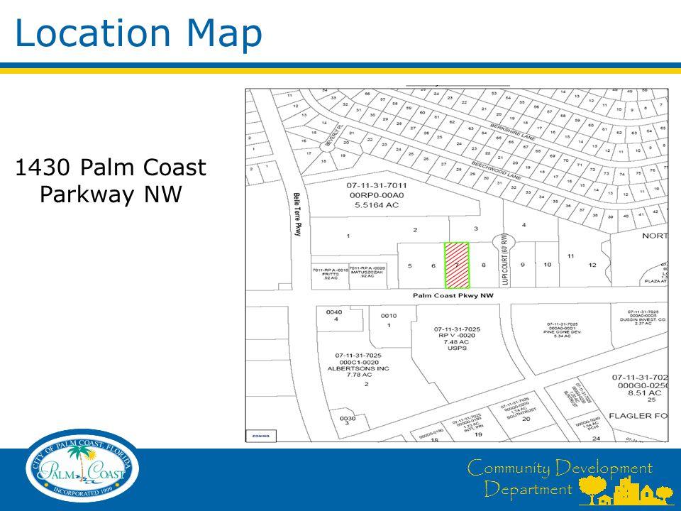 Aerial Map Community Development Department