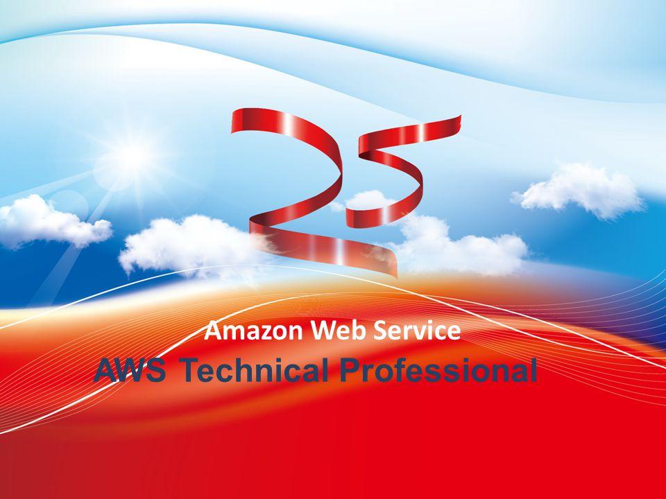 2013 Trend Micro 25th Anniversary 2014/6/11 Amazon Web Service AWS Technical Professional
