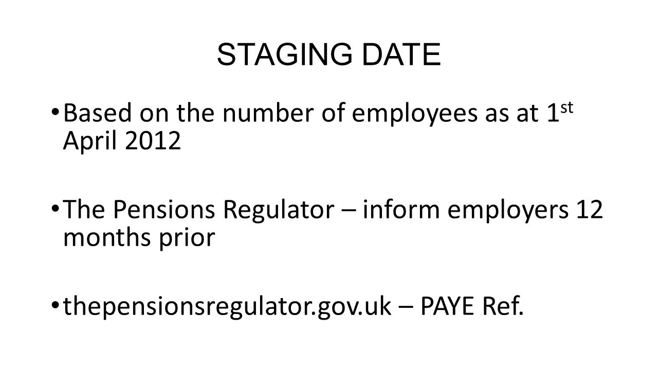 SUMMARY Start now 2015 - 50,000 employers per month – staging date Industry wont cope Take advice on: -Definition of pensionable pay -% contributions -Which provider www.greyfriars.co.uk