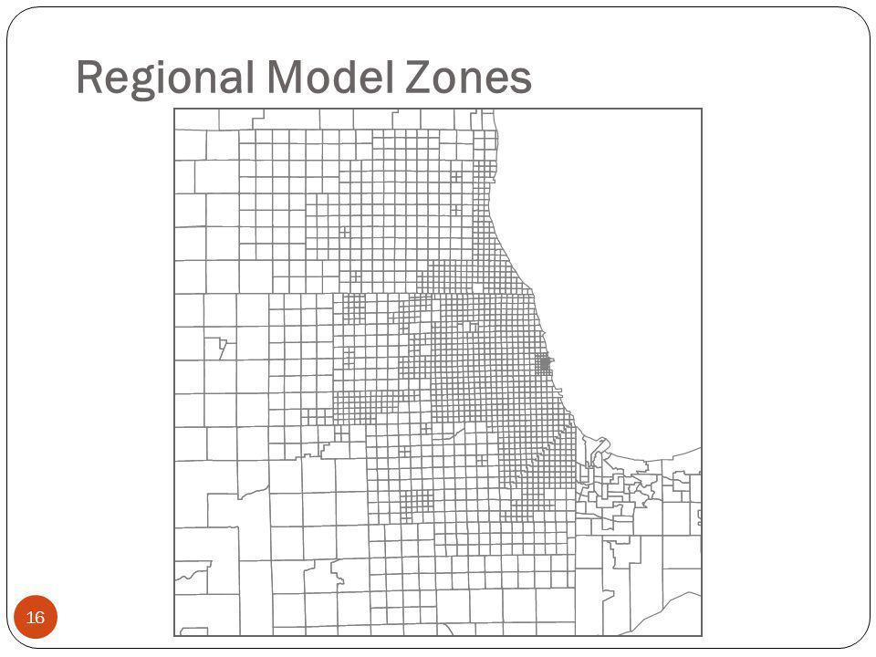 Regional Model Zones 16