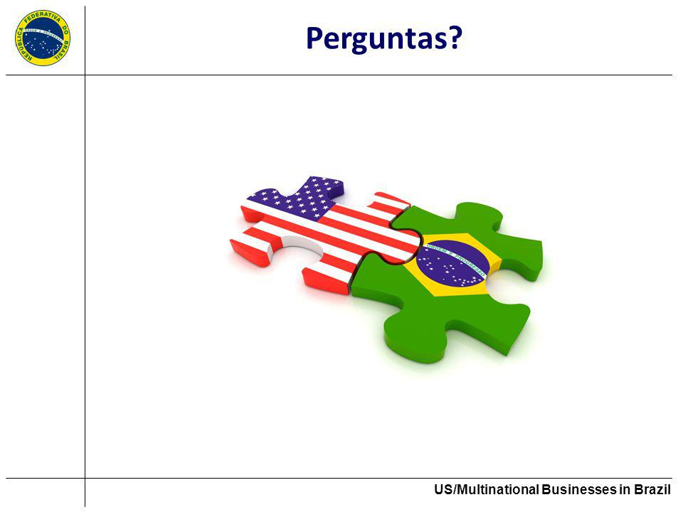 US/Multinational Businesses in Brazil Perguntas?