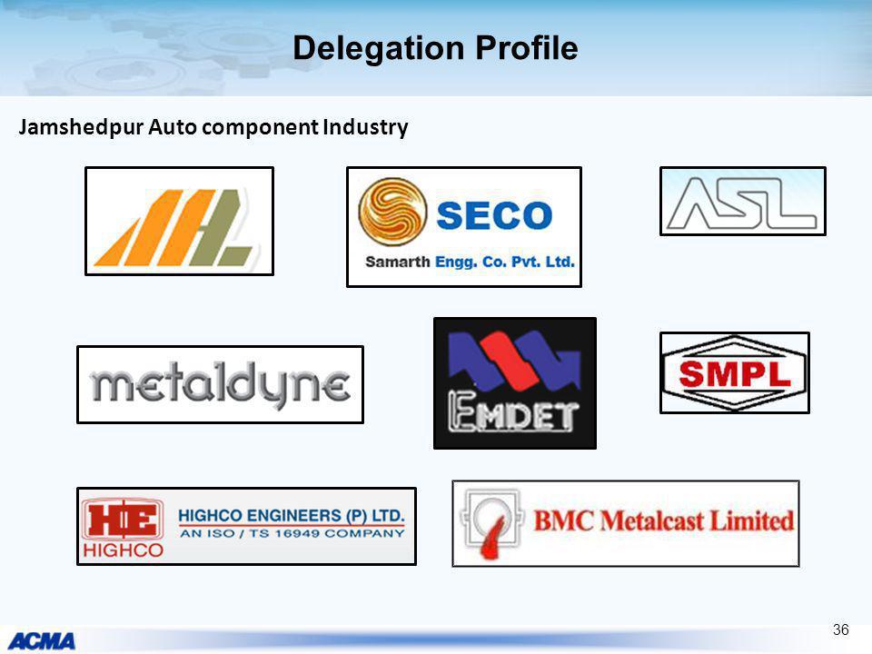 Delegation Profile Jamshedpur Auto component Industry 36