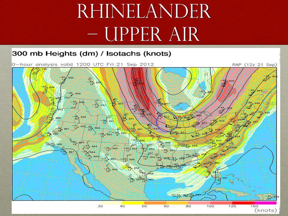 rhinelander – upper air