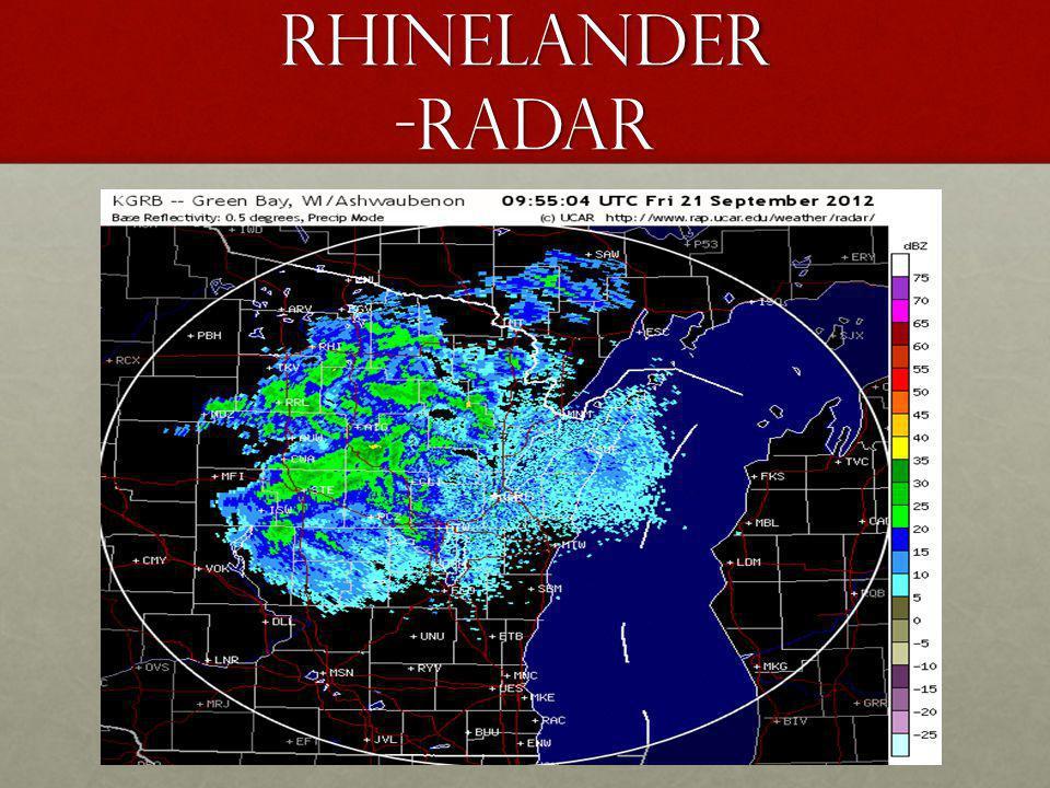 Rhinelander -radar
