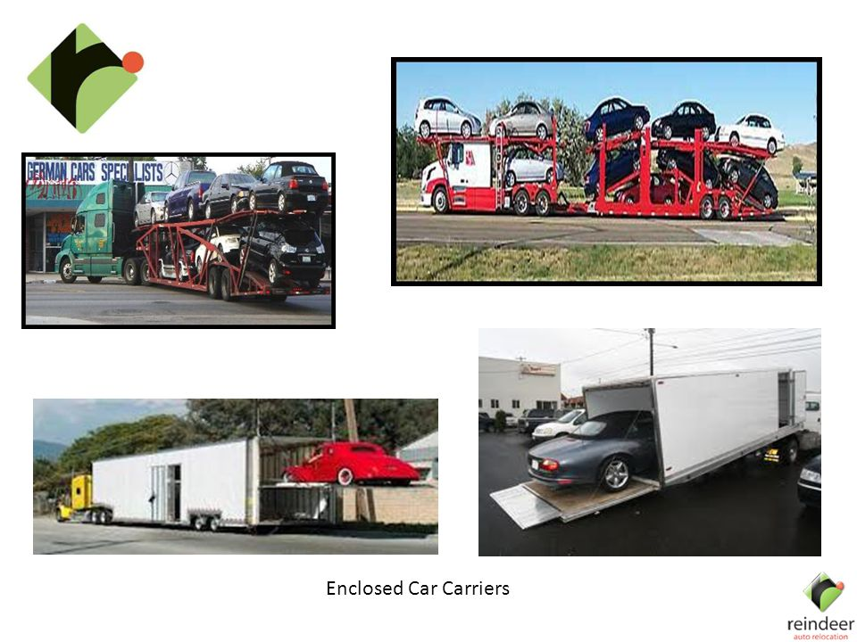 Enclosed Car Carriers