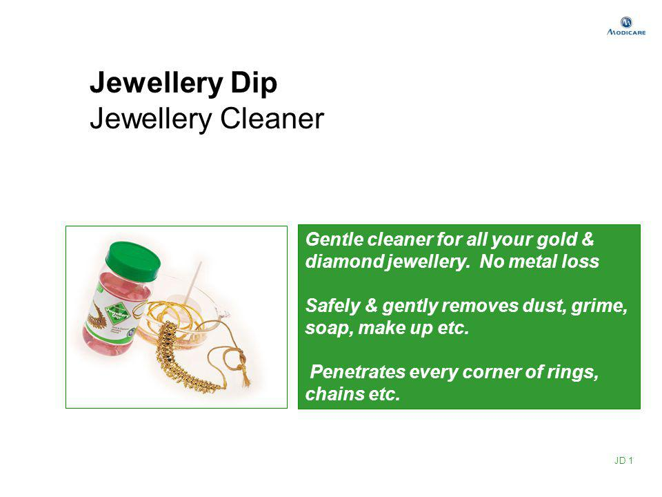 Jewellery Dip Jewellery Cleaner Gentle cleaner for all your gold & diamond jewellery. No metal loss Safely & gently removes dust, grime, soap, make up