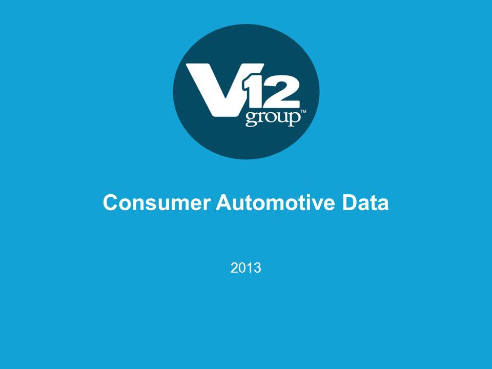 Consumer Automotive Data 2013