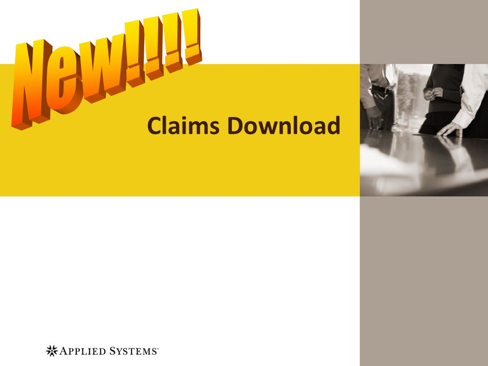 Claims Download