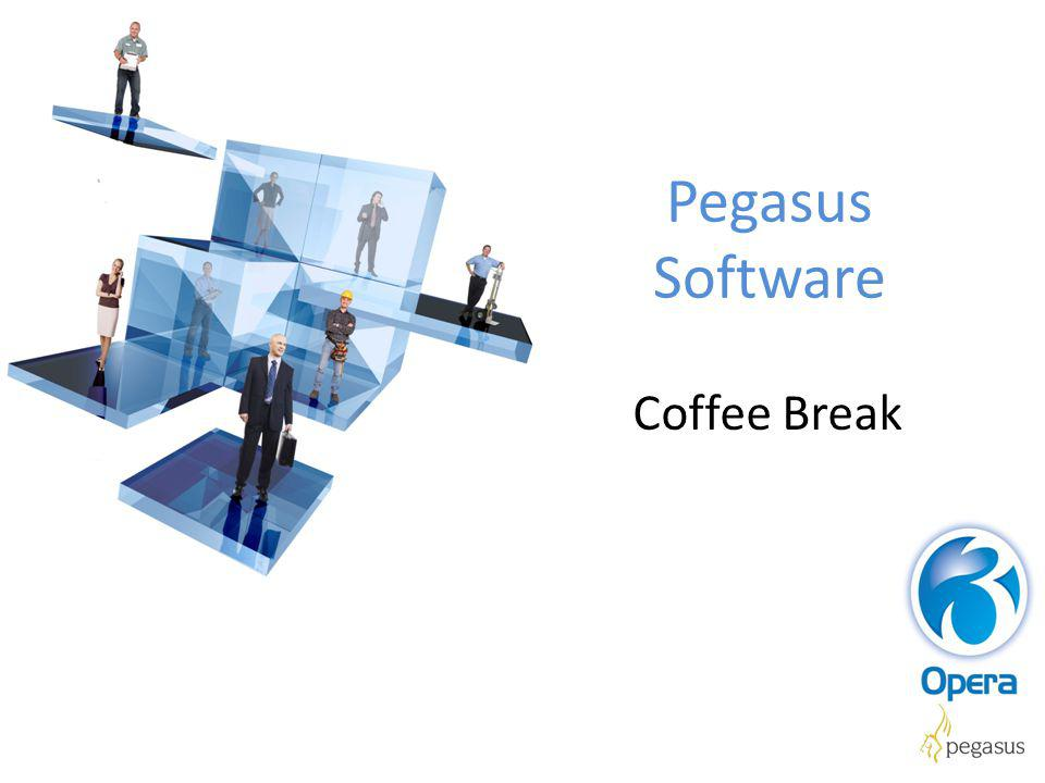 Pegasus Software Coffee Break