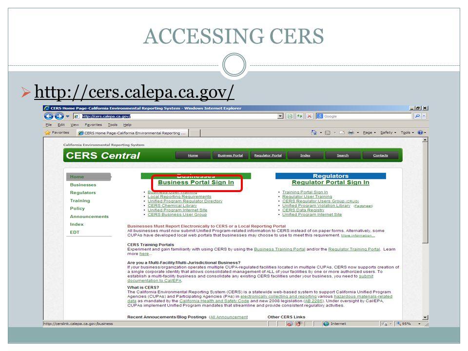 http://cers.calepa.ca.gov/