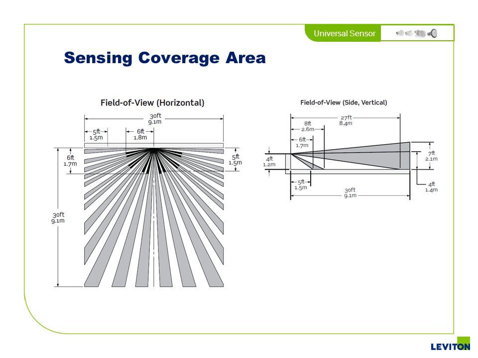 Universal Sensor Sensing Coverage Area