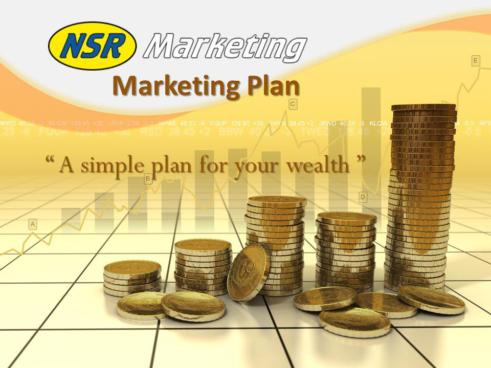 Marketing Plan A simple plan for your wealth A simple plan for your wealth