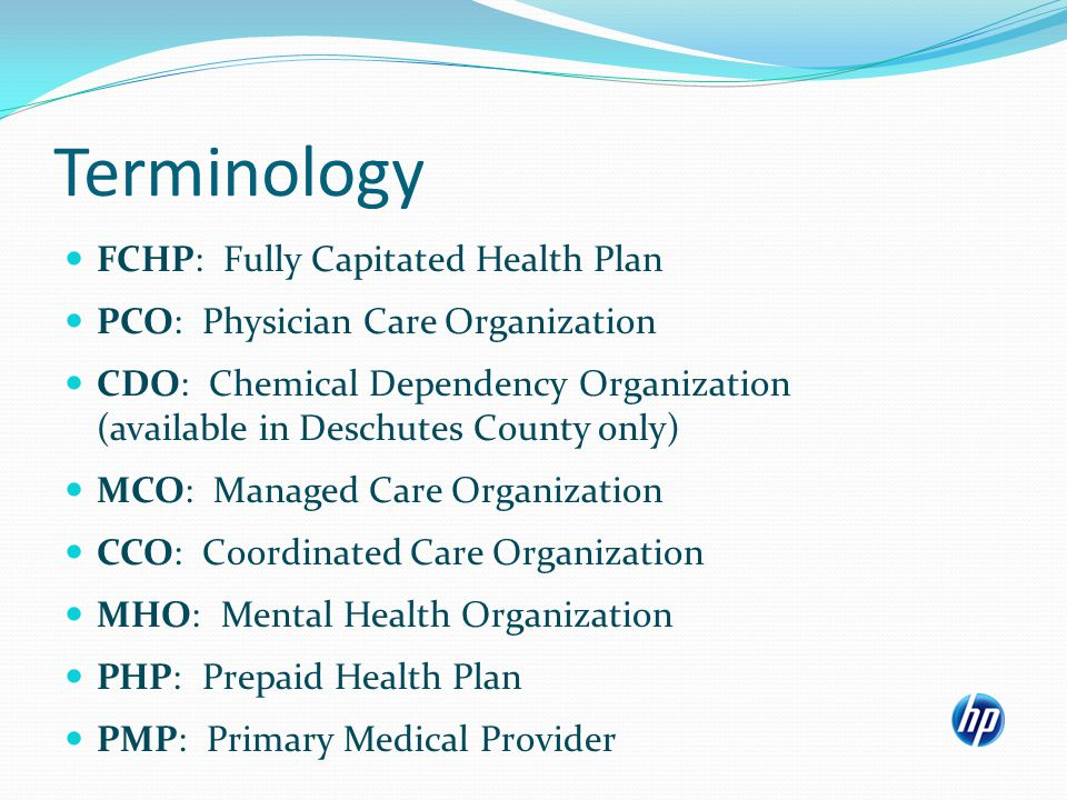 Identifying clients required to be in an MCO or CCO plan for physical health