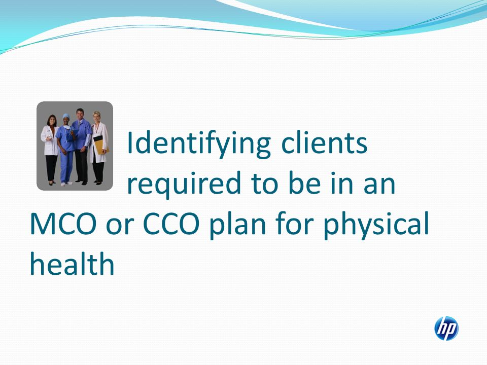 New CCO Exemption Codes With the inception of CCOs, the Managed Care Special Conditions panel in the MMIS will now display additional exemption codes for the new CCO plan types.