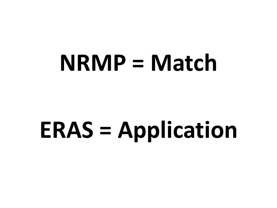 LORs (Letters of Recommendation) Designate your writer list in ERAS – Multiple specialties/same writer Four (4) max to a program Writer direct upload option via LoR Portal Can continuously designate and assign letters – Even after you have applied