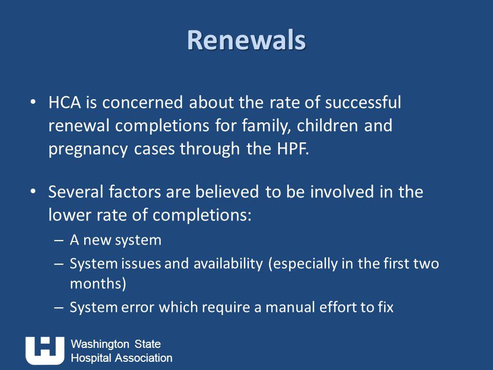 Washington State Hospital Association QUESTIONS?