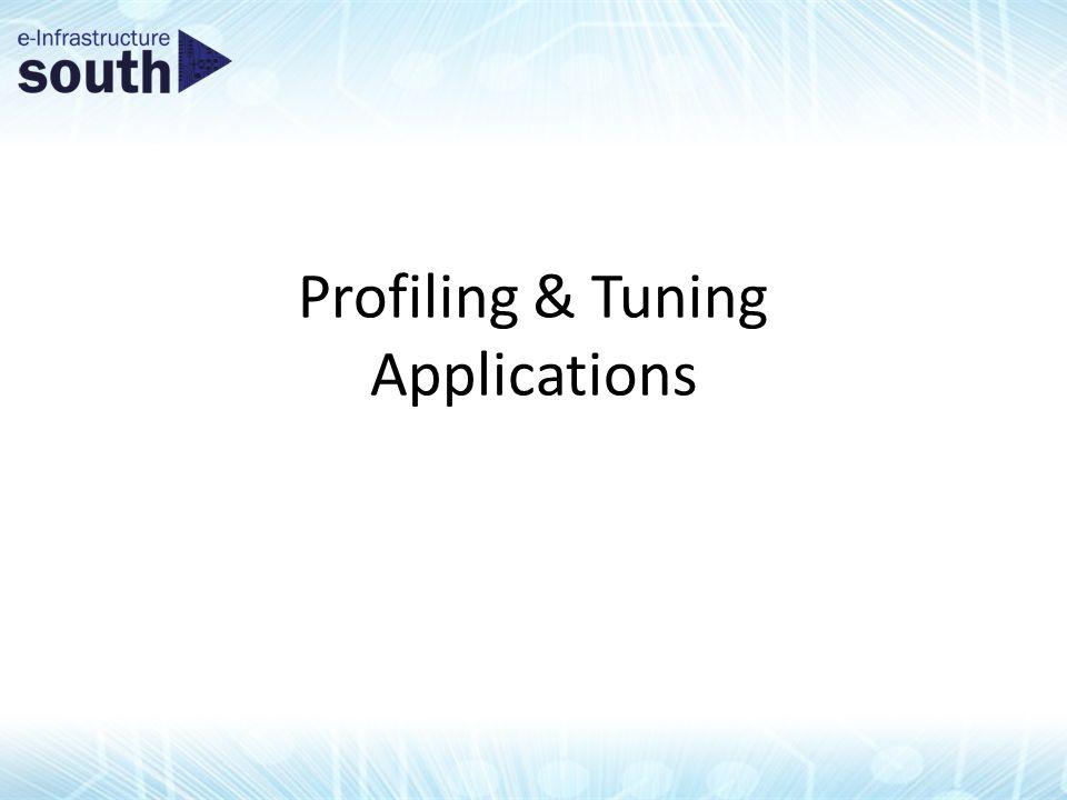 Profiling & Tuning Applications