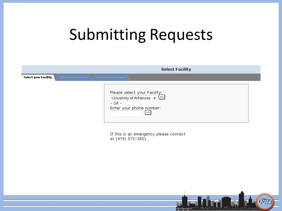 Submitting Requests