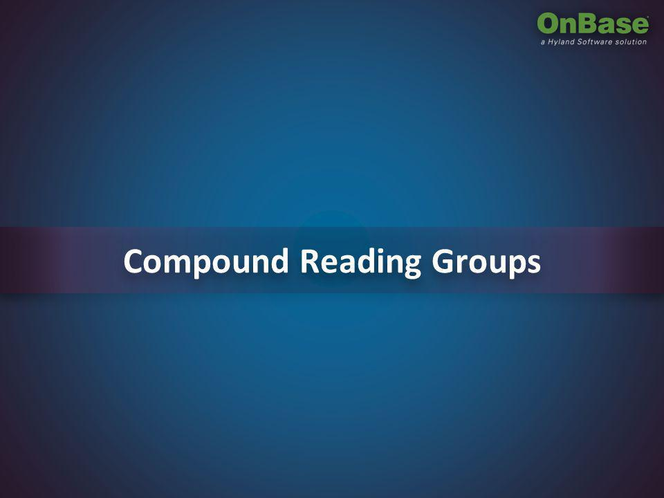 Compound Reading Groups